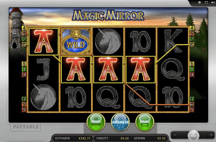 Gewinn bei Magic Mirror