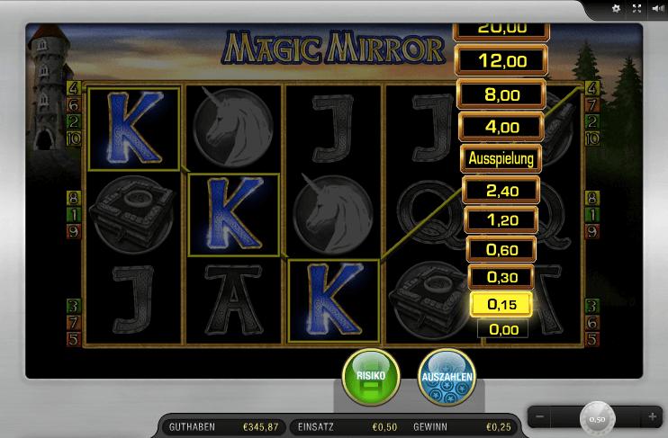 Magic Mirror Risikoleiter