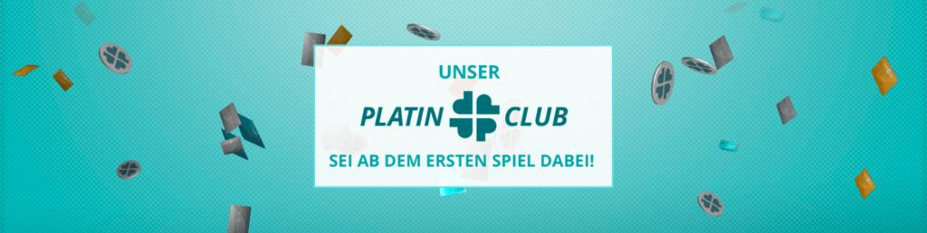 Platinclub im Platincasino